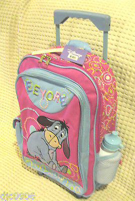 "WALT DISNEY MICKEY MOUSE 16"" BACKPACK AND MATCHING MICKEY LUNCHBOX-BRAND NEW!!"
