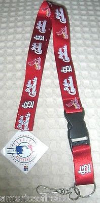 49ers Red Officially Licensed NFL Keychain/ID Holder Detachable Lanyard-New!
