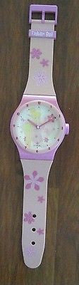 "Disney Tinkerbell WALL Clock 37"" Giant Wrist Watch Shape-Brand new factory boxed"