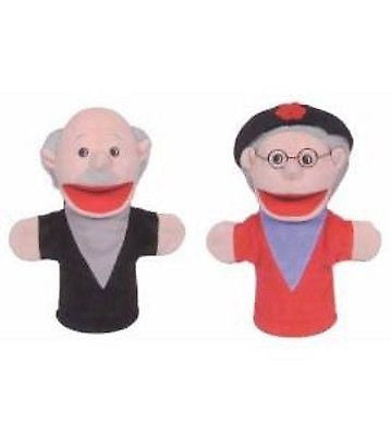 Hispanic Kids Family Large Mouth Two Hand Puppets by Get Ready, Inc.-Brand New!