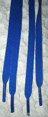 "Premium Dark Navy Blue 45"" Design Rockabilly Punk Shoe laces Shoelaces-New!"