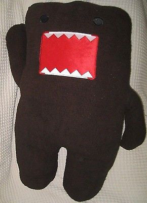 "Domo Kun Brown 32"" Plush Stuffed Toy-Domo Kun Brown Plush-Domo Kun Plush-New!"