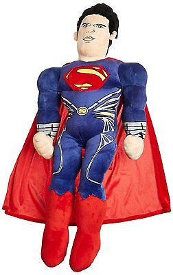 "26"" Superman Man of Steel Cuddle Pillow Pal Plush Toy by Marvel-New!"