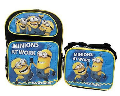Despicable Me 2 Minions Minion Oops Minions at Work Backpack&Match Lunch Box-New