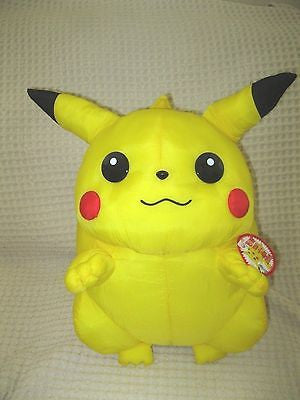 "Pokemon Pikachu 19"" Plush First Edition from Japan-Extremely RARE-NEW with Tags!"