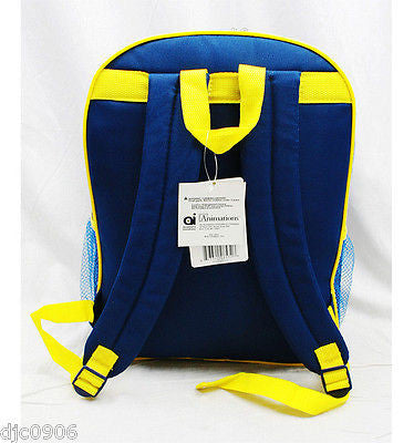 "Despicable Me 2 Minions Minion Jerry Stuart School 16"" Backpack & Lunch Box-New!"