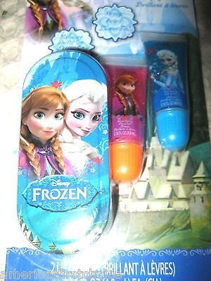 Disney Frozen Anna,Elsa, & Olfa Kiss It Paint It Nail Polish + Lip Balm Play Set