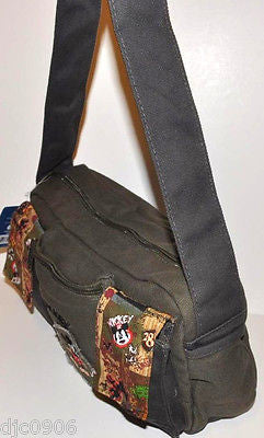 "Walt Disney Mickey Mouse Purse with Straps 11""x 7"" HandBag-NEW with Tags!"