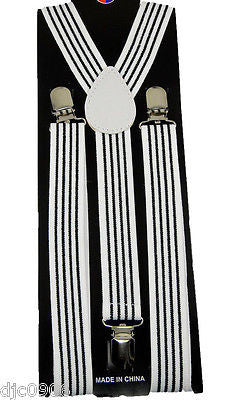New Rainbow Goth Unisex Men's Women's Design Gay Pride Adjustable Suspenders-New