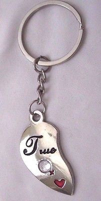 "BADMINTON/TENNIS 4 1/2"" BRONZE KEY CHAIN-BADMINTON KEYCHAIN-TENNIS KEYCHAIN-NEW!"