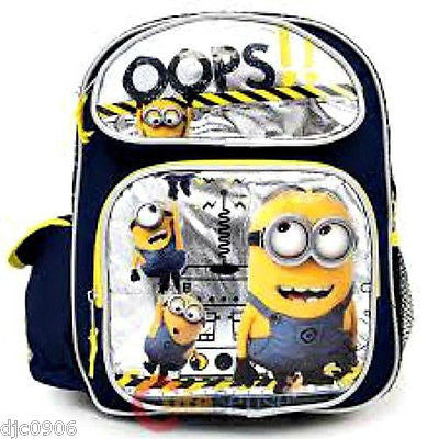 Despicable Me 2 Metallic Ops Minions at Work Backpack&Match Lunch Box Universal