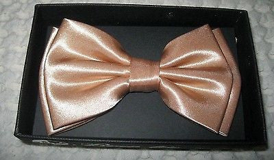 Shiny Gold Adjustable Adjustable Tuxedo Bow Tie -Gold Adjustable Bow Tie-New!