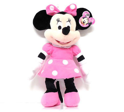 "DISNEY 24"" MINNIE MOUSE PINK DRESS PLUSH TOY-LICENSED STUFFED TOY-DISNEY PLUSH"