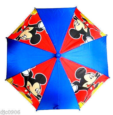 Disney Mickey Mouse Red Blue kid's original licensed Umbrella! New with tags