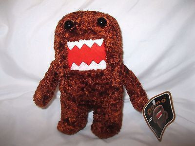 "Domo Kun 7"" Bronze Plush Stuffed Toy-Domo Kun Rust Plush-Domo Kun Plush-New!"
