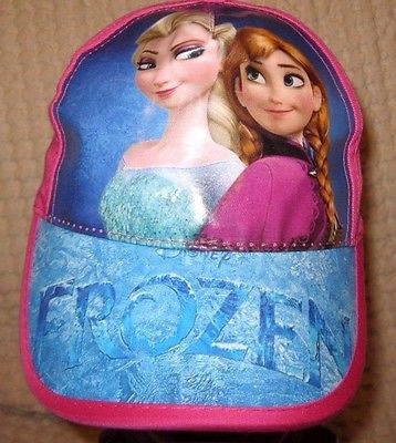 Disney Girls Boys Frozen Elsa & Anna Sisters Adjustable Baseball Cap/Hat-New!