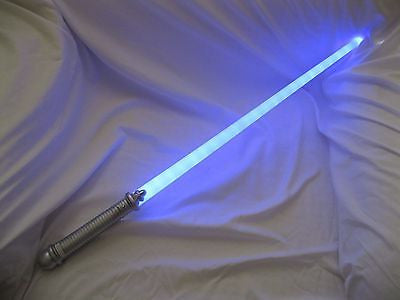 "30 Star Wars 23 LED Blue Light 28.5"" Saber Sword-28"" LED Saber Sword-Brand New!"