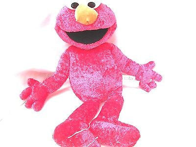 "Sesame Street  Let's Cuddle Elmo Large Plush-20"" Cuddle Me Elmo Plush-New!"