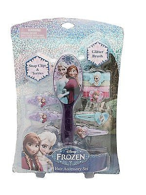 Disney Frozen 4 Terries Hair Band with Plastic Character x 3 packs by Disney-New