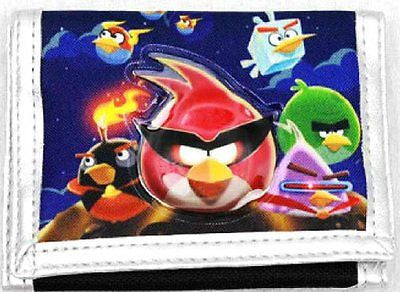 ANGRY BIRDS RED POUCH/WALLET BY ROVIO-ANGRY BIRDS TRI-FOLD WALLET-NEW WITH TAGS!