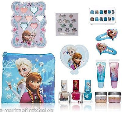 Disney Frozen Anna & Elsa Scoop All in One Tin Purse Carry Case-Brand New!!!