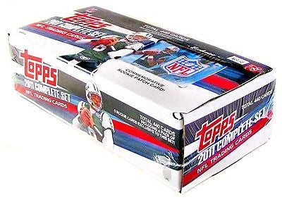2011 Topps Factory Complete 440 Set Football Box (Cam Newton Rookie Patch Card!)