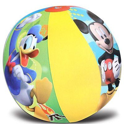 "16 Mickey Mouse Clubhouse Mickey Mouse/Donald Duck 20"" Beach Ball-New in Pkge!"