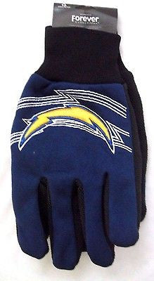 San Diego Chargers NFL Team Logo Licensed Sport Utility Gloves-New with Tags!