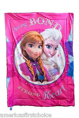 Disney Frozen Olaf,Anna, and Elsa Slumber-Bag 30 X 54 by Disney-Brand New w/Tags
