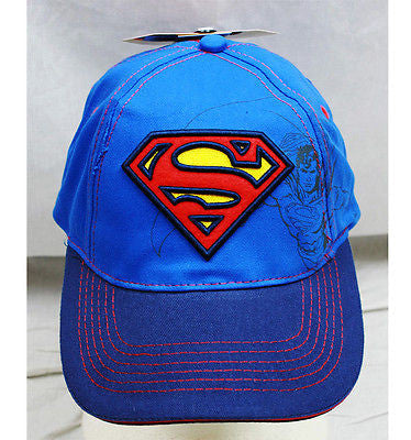 Marvel Super Hero Superman Signature Baseball Cap-Superman 2 tone Cap-New!