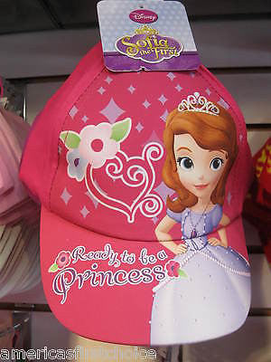 Disney Princess with Pink Bow Screen Print Adjustable Baseball Cap/Hat-New!