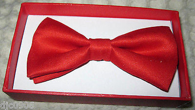 2-Layer RED Kids Boys Girls Y-Style Back Adjustable Bow Tie & Red Kid suspenders