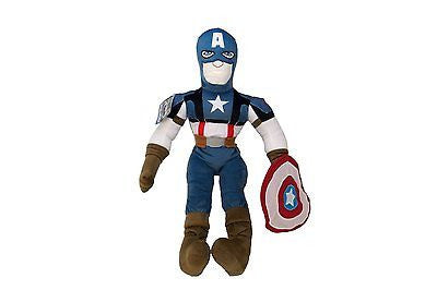 "26"" Captain America Cuddle Pillow Pal Plush Toy~The First Avenger by Marvel-New!"