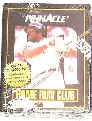 1993 SCORE PINNACLE HOME RUN CLUB SET OF 48 CARDS-LIMITED TO 200K SET MADE-NEW!