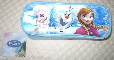 DISNEY FROZEN ANNA ELSA GIRLS 4 LIP SHINE/GLOSS + 3D HAND MIRROR ANNA ELSA OLAF