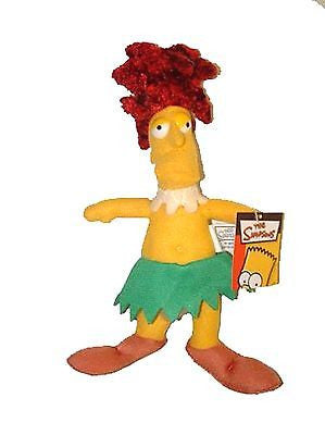 "10"" Sideshow Bob Soft Stuffed Toy from The Simpsons-Sideshow Bob Plush-Brand New"