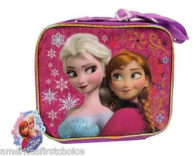 Disney Frozen Olaf,Anna, and Elsa Insulated Lunch Bag Lunch box-Brand New w/tag!