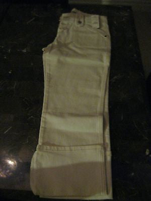 EXPRESS PRECISION FIT SIZE 7/8 CAPRI WHITE JEANS-NEW WITH TAGS!