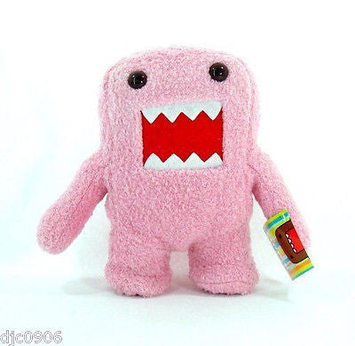 "Domo Kun 18"" X-Large Pink Plush Stuffed Toy-18"" Pink Standing Domo Kun Plush-New"
