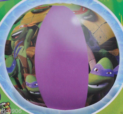 "Teenage Mutant Ninja Turtles 20"" Beach Ball,20"" Inflatable Ring,& 7"" Arm Floats"