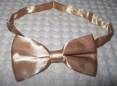 Solid Gold Adjustable Bow tie & GOLD Glittered Adjustable Suspenders Combo-VERS2