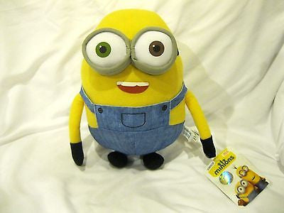 "Disney Dave or Jorge or Stewart 10"" Plush Misprint-ERROR Minion-New with Tags!"