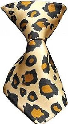 Pet's Leopard Print Adjustable Neck Tie-Dogs Cats Leopard Animal Necktie-New!