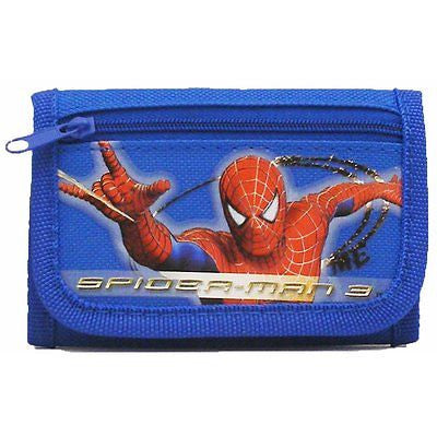 Spiderman Spider man Blue Wallet-spiderman wallet-Spider man Blue Wallet-New!