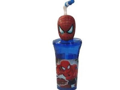 The Ultimate Spider-Man Spiderman 14 Oz. Tumbler Bottle-Brand New!