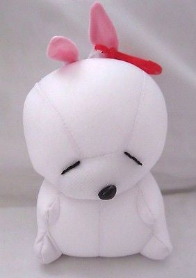 Snow Foam Micro Beads Rabbit Cushion/Pillow Backpack/Purse Clip-Brand New!