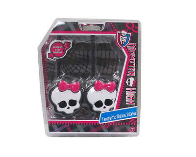 Black Monster High Walkie Talkie (15048) Children, Kids-Brand New Factory Sealed