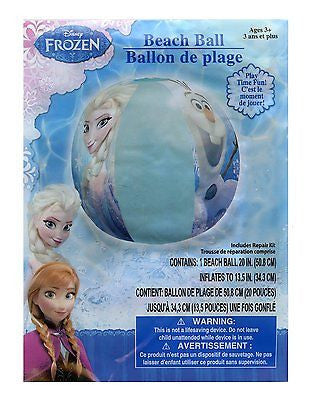 "Disney Frozen Olaf and Elsa 20"" Inflatable Swimming Ring-Frozen Swim Ring! New!"
