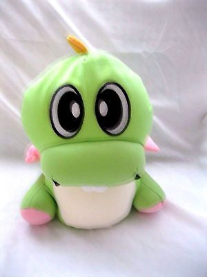 "10"" Snow Foam Micro Beads Green Dinosaur Cushion/Pillow-Brand New!"