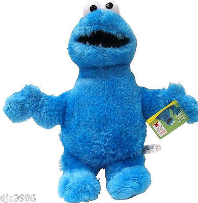 Sesame Street Playskool Let's Cuddle Cookie Monster Plush-Large Cookie Monster